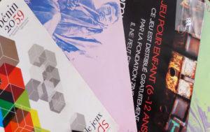 1 888 000 FCFA / 2 878€ Vous offrez 1500 jeux pédagogiques distribués gratuitement aux jeunes visiteurs lors de nos expositions