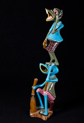 George Lilanga, Sans titre, 1994 © Fondation Zinsou