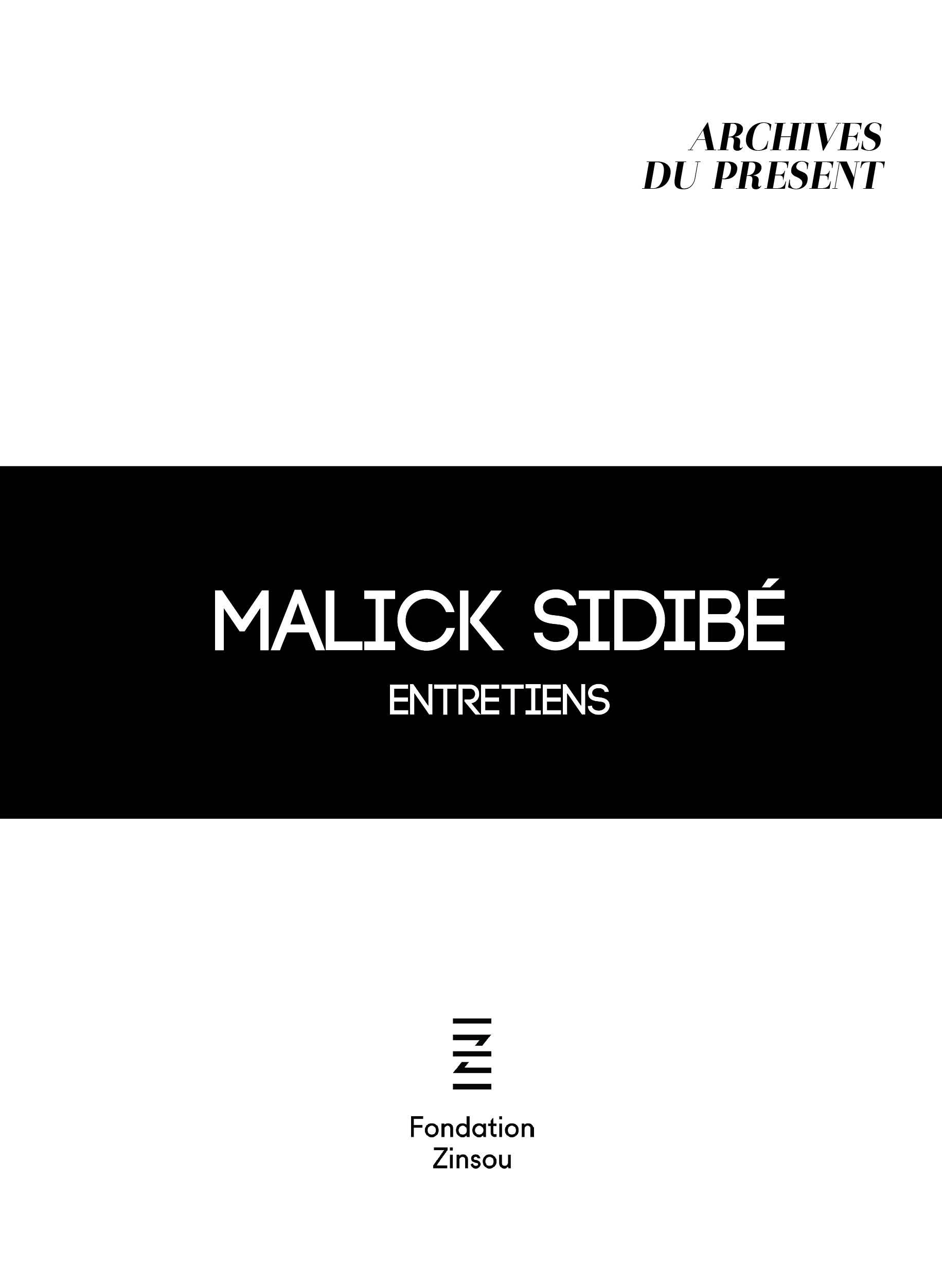 Archives du Présent-Malick Sidibé © Fondation Zinsou