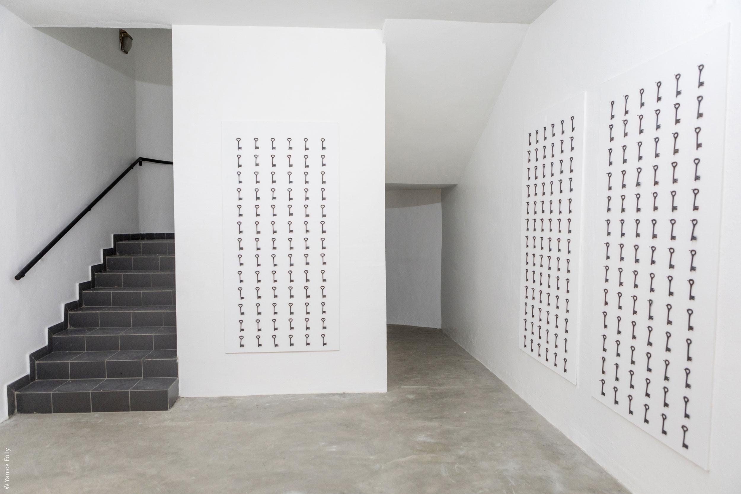 Joël Andrianomearisoa, Les clefs de l'infini, 2017 © Fondation Zinsou